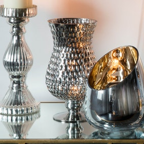 Arras Set of 2 Silver Vases