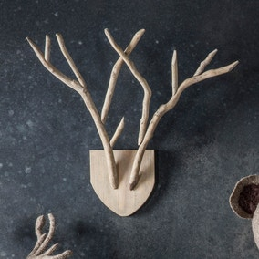 Nately Antler Wall Plaque