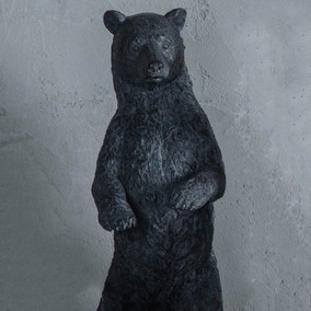 Orion Black Standing Bear Ornament