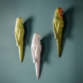 Pandemonium of Parrots Wall Ornaments