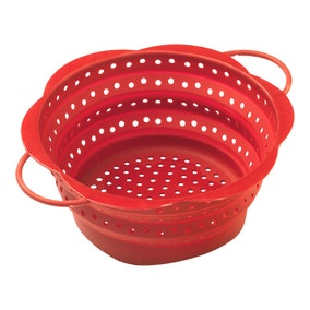 Kuhn Rikon Large Red Collapsible Colander