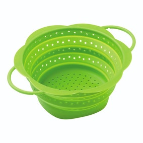 Kuhn Rikon Small Green Collapsible Colander