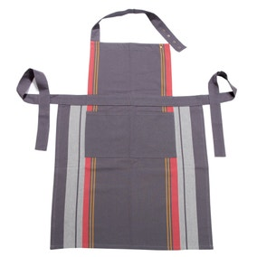 Elements Woven Stripe Apron
