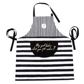 Madison Apron with Foil Print