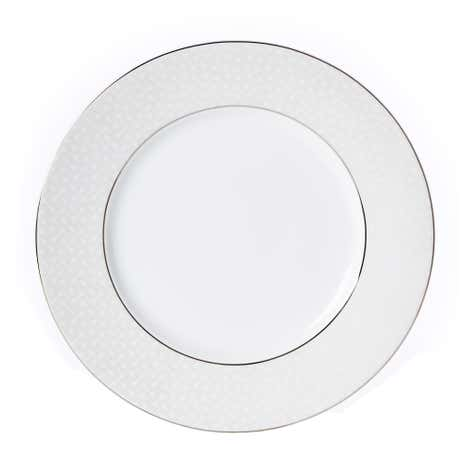 5A Fifth Avenue Grace Silver Dinner Plate