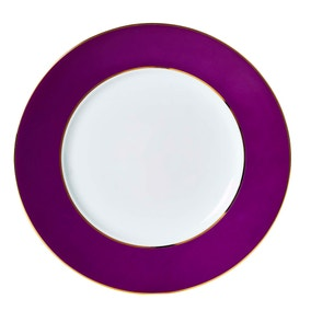 5A Fifth Avenue Hamilton Plum Dinner Plate