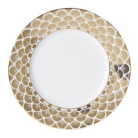 5A Fifth Avenue Bergen Gold Dinner Plate
