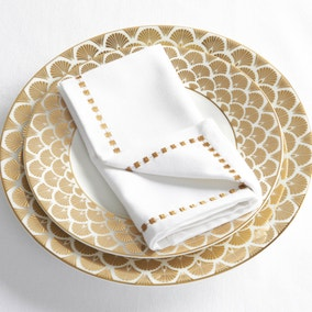 5A Fifth Avenue 4 Pack of White Napkins