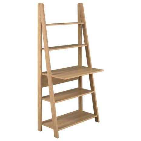 office desk corner. Tiva Oak Ladder Desk. Loz_exclusively_online Office Desk Corner