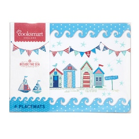 Beside the Sea Pack of 4 Placemats