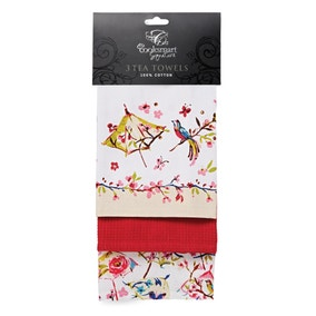 Paradiso Pack of Three Tea Towels