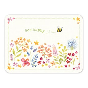 Bee Happy 4 Pack Placemats