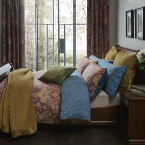 Dorma Merton Moresque Blackout Pencil Pleat Curtains