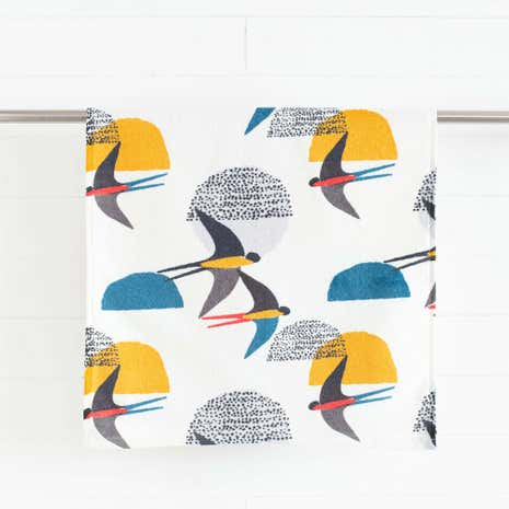 Elements Birds Hand Towel