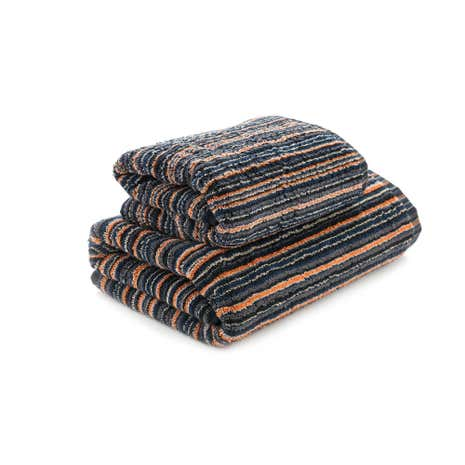 Black Stripes Towel