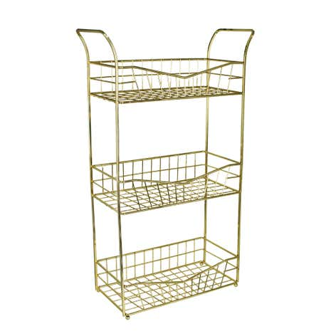3 Tier Gold Wire Storage