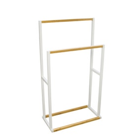 Elements Free Standing Towel Rail