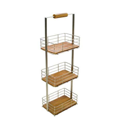 keepers lodge 3 tier bathroom caddy dunelm. Black Bedroom Furniture Sets. Home Design Ideas