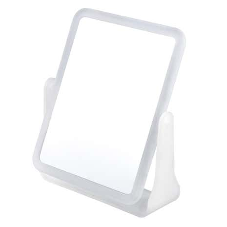 Essentials Frosted White Mirror