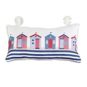 Beach Huts Bath Pillow