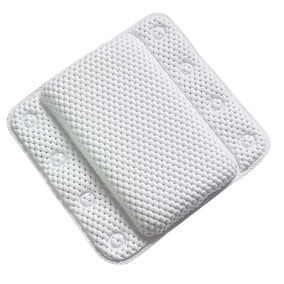 Memory Foam White Bath Pillow