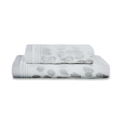 5A Fifth Avenue Broadway Silver Towel