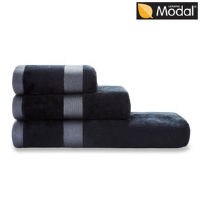 5A Fifth Avenue Modal Black Towel