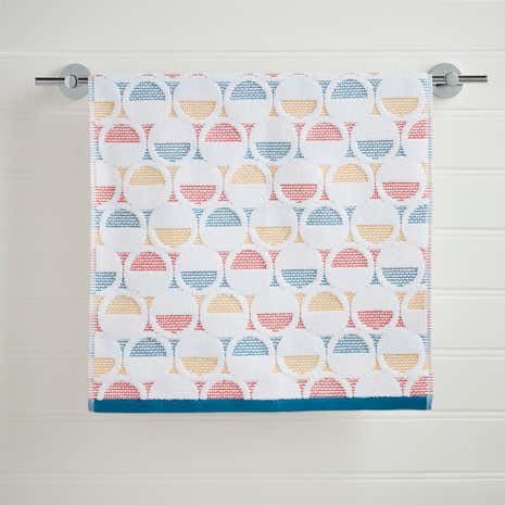 Elements Circles Hand Towel