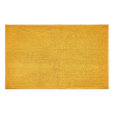 Elements Mini Bobble Ochre Bath Mat