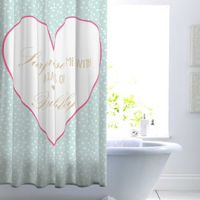 Glass of Bubbly Shower Curtain
