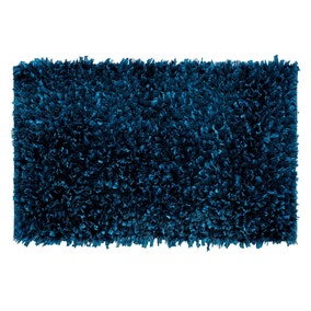 Textured Teal Bath Mat
