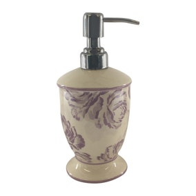 Laura Floral Lotion Dispenser
