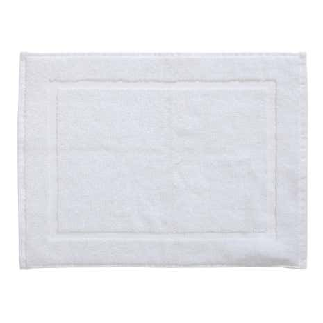 Essentials White Shower Mat