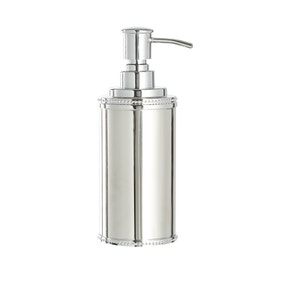 Dorma Beaded Stainless Steel Lotion Dispenser