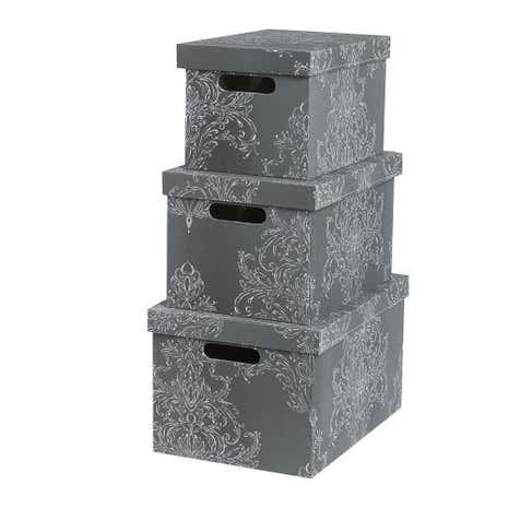 Versailles Box  sc 1 st  Dunelm & Storage Boxes   Plastic Storage Boxes   Dunelm Aboutintivar.Com