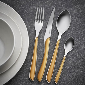 Elements Ochre 24 Piece Cutlery Set
