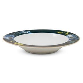 Charm Blue Floral Soup Bowl