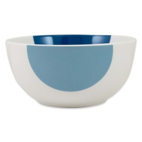 Elements Blue Circle Bowl