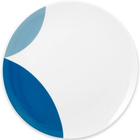 Elements Blue Circle Dinner Plate