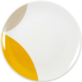 Elements Ochre Circle Dinner Plate