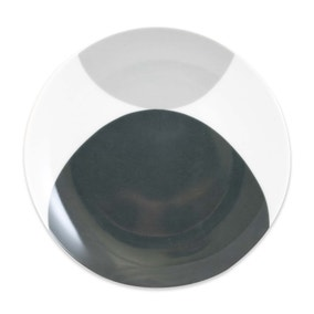 Elements Grey Circle Side Plate
