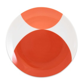 Elements Red Circle Side Plate