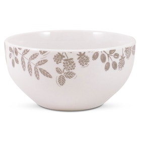 Woodland Taupe Bowl