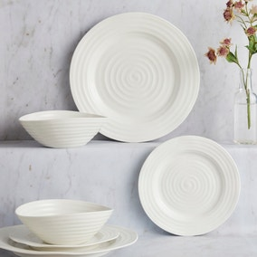 Sophie Conran White 12 Piece Dinner Set