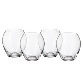 Mode Pack of 4 Clear Tumblers
