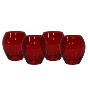 Mode Pack of 4 Red Tumblers
