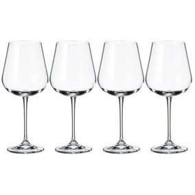 Mode Pack of 4 Clear Wine Glasses