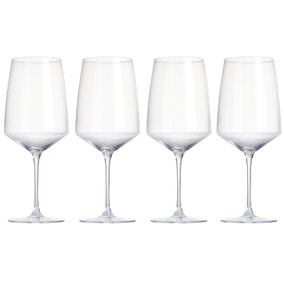 Elements Pack of 4 Red Wine Glasses