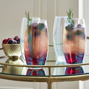 Pack of 4 Lustre Highball Glasses