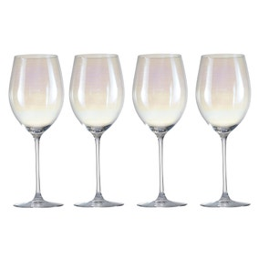 Pack of 4 Lustre Wine Glasses
